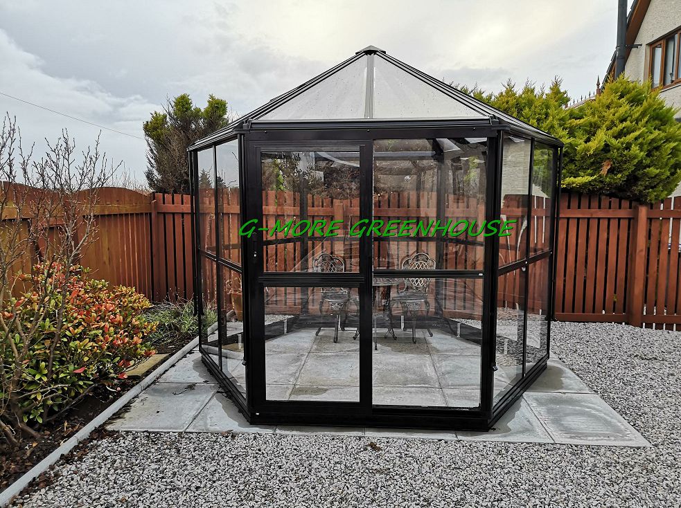 Photos of Hexagonal Greenhouse from UK customer shared