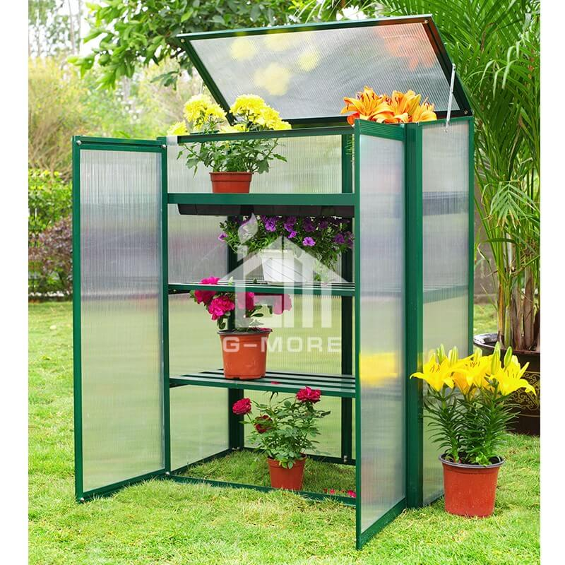 G-MORE Nursery Series, 4MM Elegant Nursery Garden Greenhouse - GM41054-G