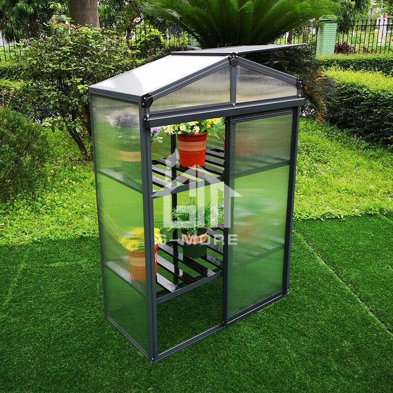 G-MORE Nursery Series, 4MM Elegant Nursery Garden Greenhouse - GM44033