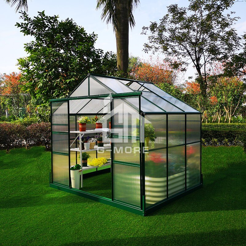 8'x6' G-more Lite Series Affordable Greenhouses for sale-GL033