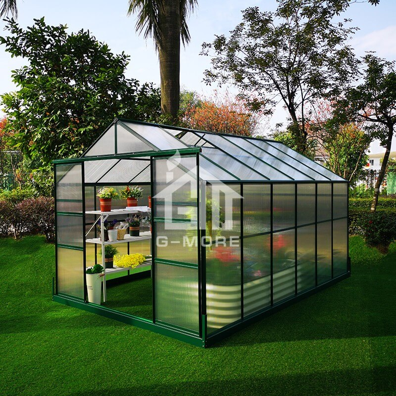 8'x12' G-more Lite Series Best Price Outdoor Garden Greenhouse-GL036