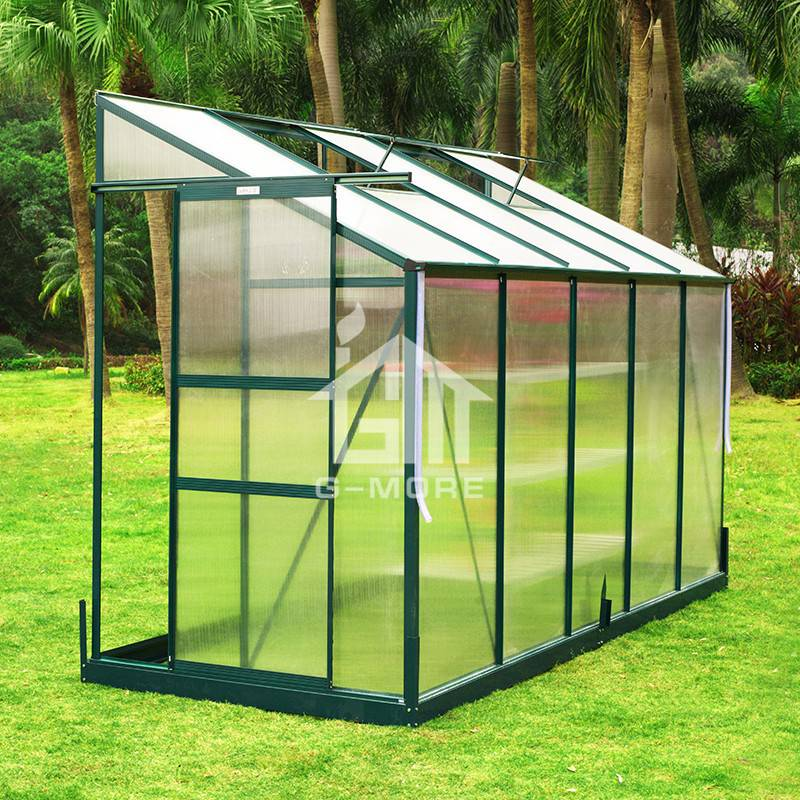 4'x10' G-more Lite Series Low Cost Greenhouse House in Business-GL045