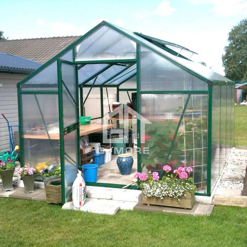 10'x13' Titan Greenhouse, G-more Titan Series Metal Polycarbonate Commercial Used Greenhouse Sale - GM32304