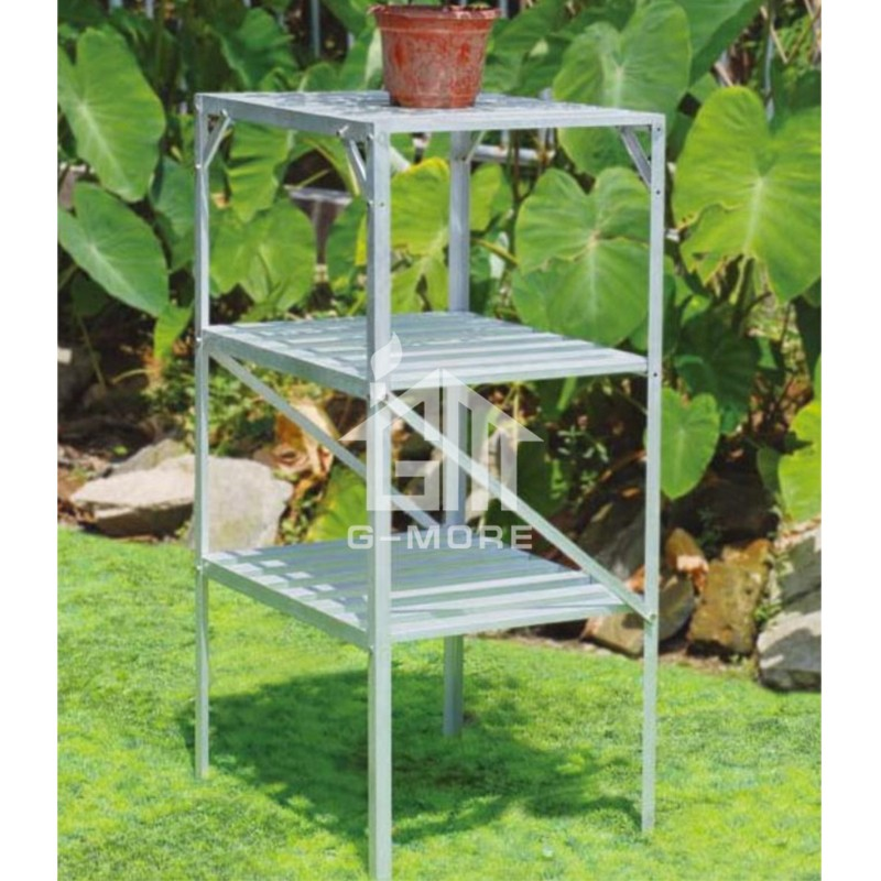 G-MORE Aluminum Staging, 3 Tier Shelf Rack - GM51023