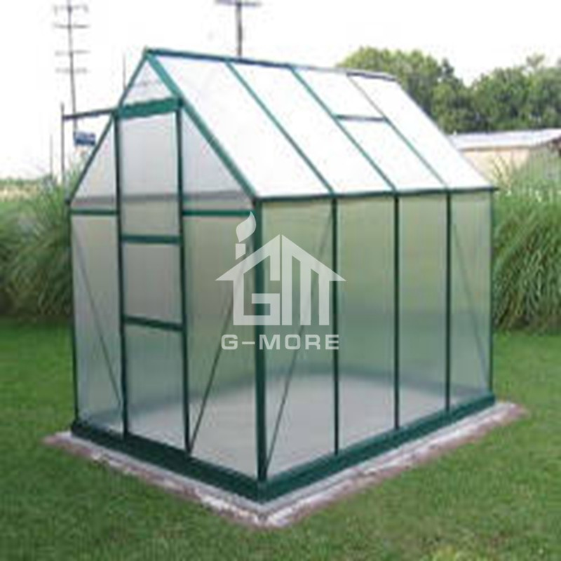 6.9'x9.2' 4mm Thick PC Free Extendable Double Wall Greenhouse