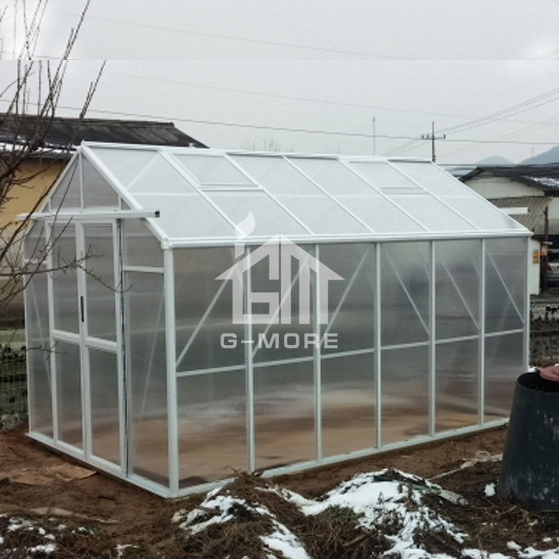 8.3'x12.5' Modular Design Freely Extended Greenhouse Hobby