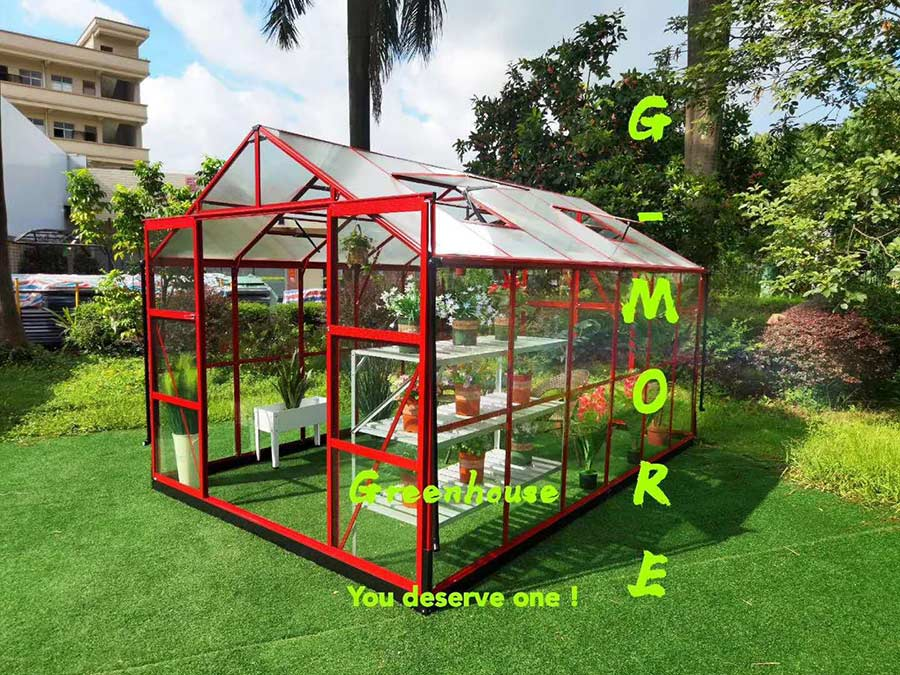 Red color Greenhouse__GP936-R